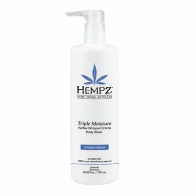 Hempz Triple Moisture Herbal Whipped Creme Body Wash - 25.4oz
