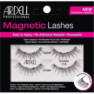 6 Pack - Ardell Magnetic Double Eyelashes, Black [110] 1 ea