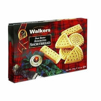 Walkers Shortbread Pure Butter Assorted Shortbread8.8 oz.(pack of 12)
