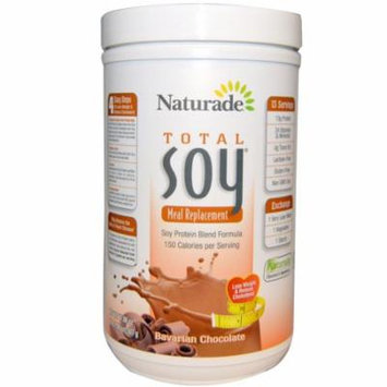 Naturade, Total Soy, Meal Replacement, Bavarian Chocolate, 17.88 oz (507 g)(Pack of 2)