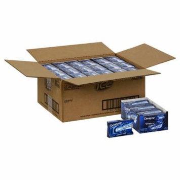 (Price/case)Dentyne 00866 Ice Sub Zero Gum Glacier Mint Sugar Free18X16 Pc