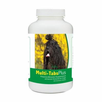 Healthy Breeds 840235177593 Bergamasco Multi-Tabs Plus Chewable Tablets - 180 Count