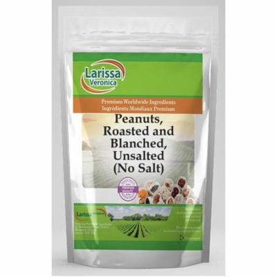 Peanuts, Roasted and Blanched, Unsalted (No Salt) (4 oz, ZIN: 525978) - 2-Pack