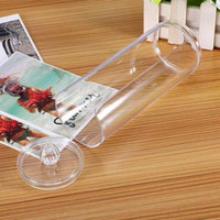 Clear Acrylic Makeup Storage Cotton Pads Organizer Box Cases Holder Cosmetic, Organizer Box Cases