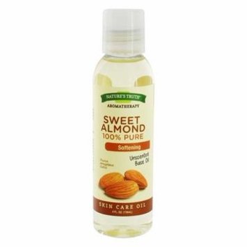 100% Pure Sweet Almond Oil - 4 fl. oz. by Nature's Truth (pack of 12)