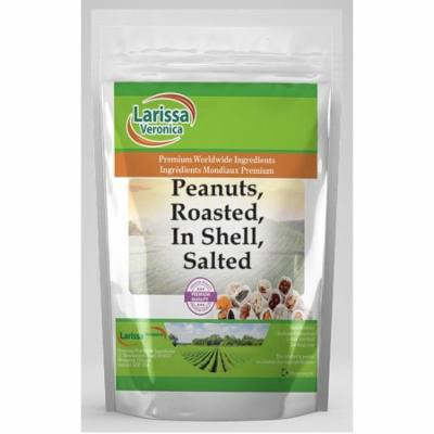 Peanuts, Roasted, In Shell, Salted (8 oz, ZIN: 525994) - 3-Pack