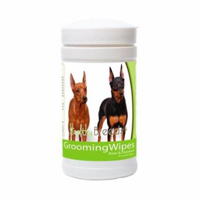 Healthy Breeds 840235151586 Miniature Pinscher Grooming Wipes