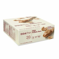 thinkThin High Protein Bars Creamy Peanut Butter2.1 oz. x 10 pack(pack of 1)