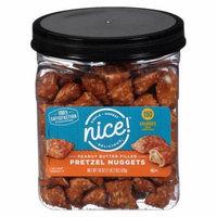 Nice! Peanut Butter Filled Pretzel Nuggets18.0 (pack of 4)
