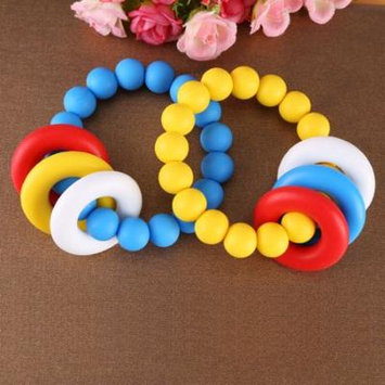 Yosoo Lovely Baby Silicone Pacifier Clip Holder Teether Shower Gift, Silicone Teether,Teether Tool
