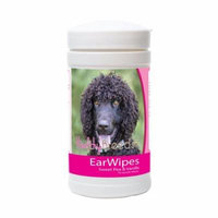 Healthy Breeds 840235172178 Irish Water Spaniel Ear Wipes - 70 Count