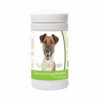 Healthy Breeds 840235171690 Smooth Fox Terrier Grooming Wipes - 70 Count