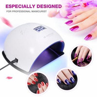 UVLED Nail Lamp Nail Dryer for Nail Gel Polish Curing with Smart Sensor Manicure Pedicure Tools, Smart Sensor, Nail Dryer Machine