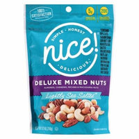 Nice! Deluxe Mixed Nuts Lightly Salted with Sea Salt9.0 oz.(pack of 2)