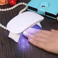 Aramox 2Colors 6W UV LED Mini Nail Dryer Mouse Shape Polish Drying Machine Curing Nail Gel Art Tool