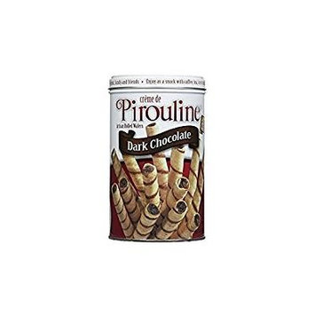 PIrouline Creme Filled Wafers Dark Chocolate 14.1 Oz. Pack Of 3.