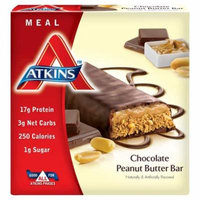 Atkins Advantage Meal Bars Chocolate Peanut Butter5.0 ea(pack of 1)