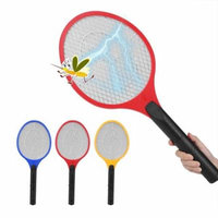 VBESTLIFE Cordless Battery Powered Electric Fly Mosquito Swatter Bug Zapper Racket Insects Killer Electric Fly Swatter Battery Mosquito Swatter