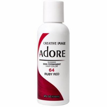 6 Pack - Creative Images Systems Adore Semi-Permanent Haircolor [064] Ruby Red 4 oz