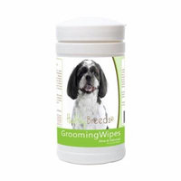 Healthy Breeds 840235179863 Shih-Poo Grooming Wipes - 70 Count