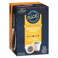 Nice! Premium Morning Rush Single Cup0.33 oz. x 12 pack(pack of 4)