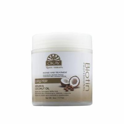 OKAY OKAY-RTIHT6 Roots Therapy Biotin, Argan & Coconut Professional Intense hair Treatment
