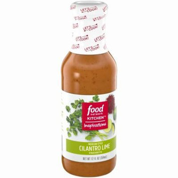 Food Network Kitchen Inspirations Mexican Style Cilantro Lime Vinaigrette 12 fl. oz. Bottle