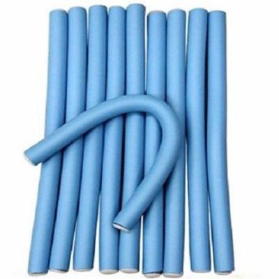Flexi Rod Bendable Foam Styling Curlers (Blue)