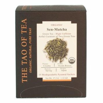 The Tao of Tea, Organic Sen-Matcha Tea, 15 Ct Tea Bags