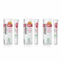 Yes To Grapefruit Uneven Skin Tone, Dark Circle Correcting Eye Cream, 0.5 Oz (Pack of 3) + Makeup Blender Sponge