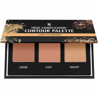 4 Pack - Black Radiance True Complexion Contour Palette, Light to Medium 0.38 oz