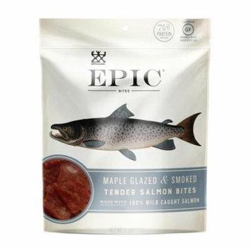 EPIC Maple Glazed & Smoked Tender Salmon Bites 8 Ct Box of 2.5 oz Bags
