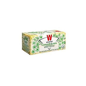 Wissotzky Tea Chamomile With Nana Mint 1.06 Oz. Pack Of 3.