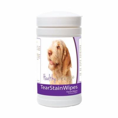 Healthy Breeds 840235172659 Spinoni Italiani Tear Stain Wipes - 70 Count