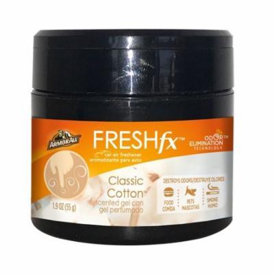 Armor All FRESHfx Car Air Freshener Scented Gel Can 1.9oz (Classic Cotton)