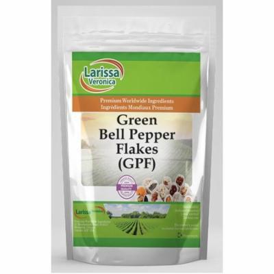 Green Bell Pepper Flakes (GPF) (16 oz, ZIN: 526034) - 2-Pack