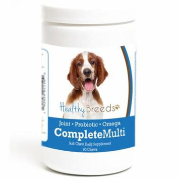 Healthy Breeds 192959011500 Welsh Springer Spaniel all in one Multivitamin Soft Chew - 90 Count