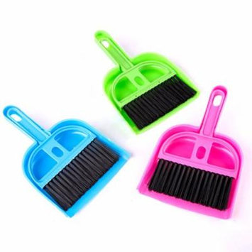 Girl12Queen Mini Plastic Cleaning Sweeper Dustpan Broom Set for Pets Home Appliance