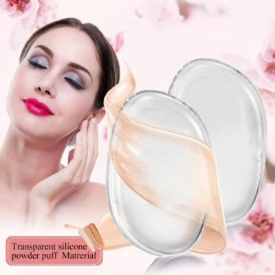Aramox Silicone Makeup Sponge Puff for Cream Liquid Foundation Applicator Essential Washable Tool