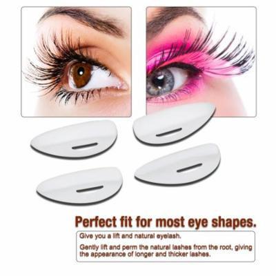 WALFRONT Eyelash Extension Tool False Eye Lash Glue Pad Curler Curling Perming Kit , Eyelash Extension Pad, Eyelash Perming Pad