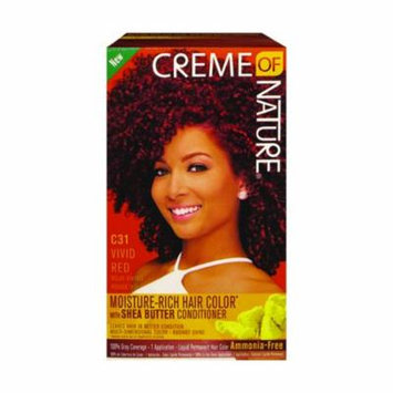 Creme Of Nature Liquid Hair Color Kit Vivid Red