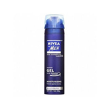 Nivea Moisturizing Shaving Gel Normal To Dry Skin 7 Oz