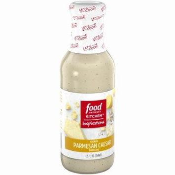 Food Network Kitchen Inspirations Creamy Parmesan Caesar Dressing 12 fl. oz. Bottle