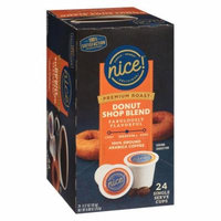 Nice! Premium Roast Donut Shop Blend Single Cup0.37 oz. x 24 pack(pack of 1)