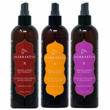Marrakesh X Leave In Treatment 12oz All in 1 Combo (Original + Dreamsicle + High Tide)