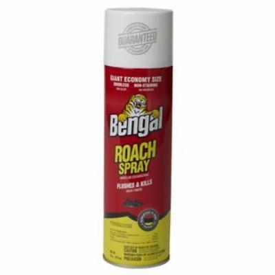 Bengal 16 OZ Roach Spray Kills Roaches Ants Mosquitoes Fleas