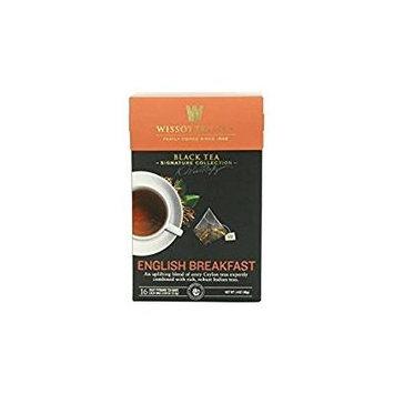 Wissotzky Tea Black Tea English Breakfast 1.4 Oz. Pack Of 3.