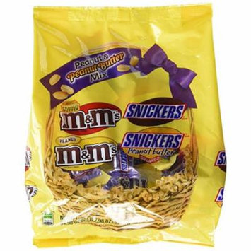 MARS Chocolate Easter Peanut & Peanut Butter Lovers Fun Size Candy Variety Mix 34.98-Ounce Bag