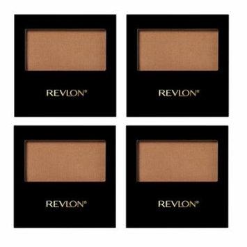 Revlon Powder Bonzer, 012 Bronzilla, 0.17 Ounce (Pack of 4) + Makeup Blender Sponge