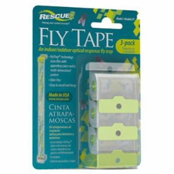 Rescue Fly Tape Catches Common Nuisance Or Filth Flies 4PK